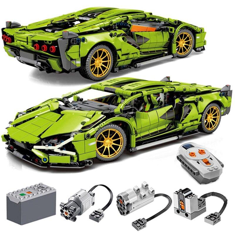1254 Pcs Bricks Remote Control Car Technic Model Building Blocks Boy Birthday Christmas Gifts Kids RC Toys For Children